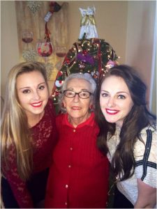 Mom with granddaughters